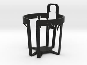 NA Miata Cupholder in Black Natural Versatile Plastic