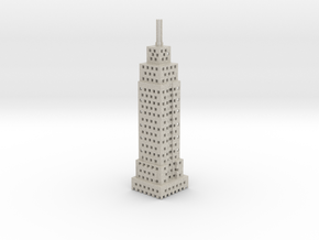 Holy Empire State Building! in Natural Sandstone
