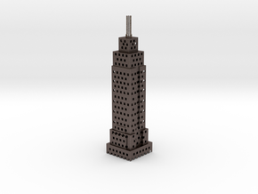 Holy Empire State Building! in Polished Bronzed Silver Steel