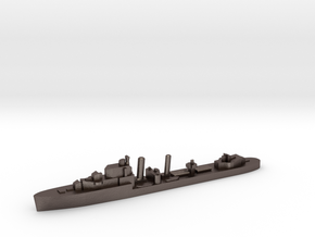 HMS Imogen destroyer 1:1200 WW2 in Polished Bronzed-Silver Steel