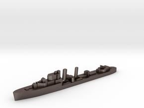 HMS Imogen destroyer 1:2400 WW2 in Polished Bronzed-Silver Steel