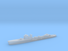 Italian Andromeda torpedo boat 1:2400 WW2 in Smoothest Fine Detail Plastic