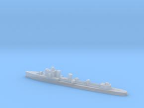 Italian Zeffiro destroyer WW2 1:3000 in Smoothest Fine Detail Plastic