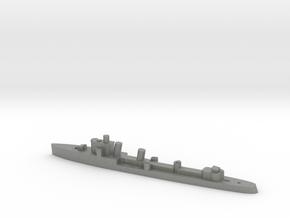 Italian Zeffiro destroyer WW2 1:3000 in Gray PA12
