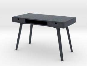 Miniature Ketchiken Desk Worker Series - Yelkkin  in Black PA12: 1:12