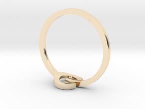 POWER ring in 14K Yellow Gold: 3 / 44