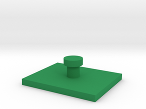 1:152 vehicle rectangle hover base in Green Processed Versatile Plastic