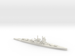 German Deutschland-Class Cruiser in White Natural Versatile Plastic