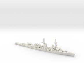 German Konigsberg-Class Cruiser in White Natural Versatile Plastic