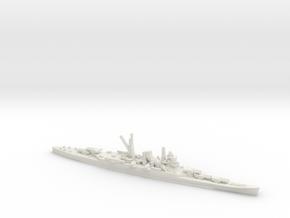 Japanese Mogami-Class Cruiser (5x3) in White Natural Versatile Plastic