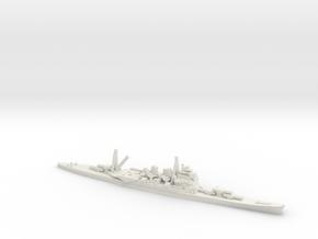 Japanese Takao-class Cruiser in White Natural Versatile Plastic