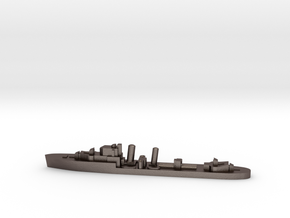 HMS Imperial destroyer 1:2400 WW2 in Polished Bronzed-Silver Steel