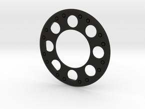 OneWheel Beadlock Rim cover Baja style in Black Natural Versatile Plastic