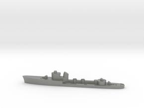 Italian Antares torpedo boat 1:2400 WW2 in Gray PA12