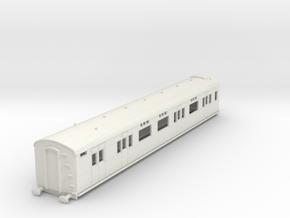 o-76-sr-d2654-gen-saloon-brake-coach in White Natural Versatile Plastic