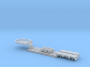 1:160/N-Scale 3 Axle Low Loader  in Smooth Fine Detail Plastic
