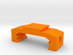 Picatinny to Dovetail Rail Adapter (1 Slot) in Orange Processed Versatile Plastic