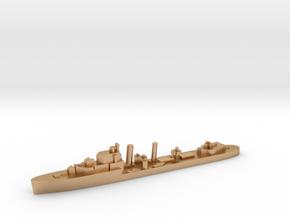 HMS Impulsive destroyer 1:1200 WW2 in Natural Bronze