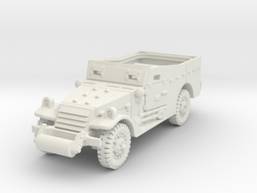 M3A1 Scoutcar early 1/87 in White Natural Versatile Plastic