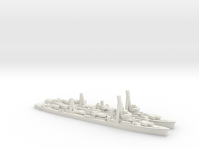 Japanese Kagero-Class Destroyer (x2) in White Natural Versatile Plastic