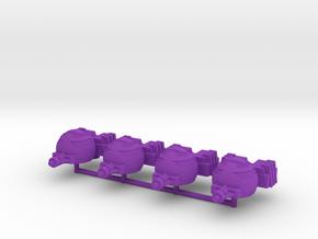 Starriors Battle Accessories in Purple Processed Versatile Plastic: Large