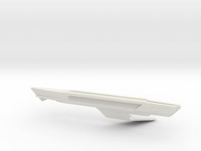 1/1400 USS Shangri-La Right Nacelle in White Natural Versatile Plastic