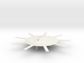 (1:144 fictional) Focke-Wulf Fw 500 in White Natural Versatile Plastic