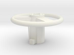 VAMP Mark II Replacement Steering Wheel in White Natural Versatile Plastic