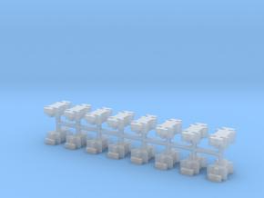 SPMT Verbinder V1- 16erSet  1:120 TT in Smooth Fine Detail Plastic