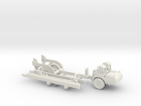 1/72 Scale MGM-5 Corporal Missile and Transporter  in White Natural Versatile Plastic