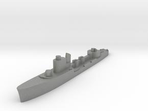 Italian Astore torpedo boat 1:1800 WW2 in Gray PA12