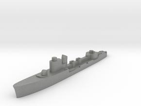 Italian Astore torpedo boat 1:2400 WW2 in Gray PA12