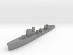 Italian Astore torpedo boat 1:3000 WW2 in Gray PA12