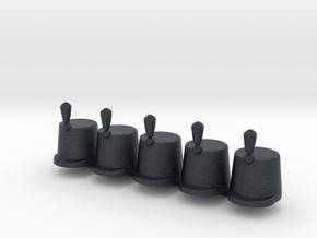 5 x British Stovepipe  in Black PA12