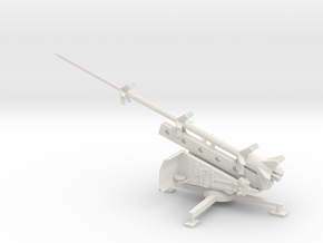 1/100 Scale German Missile Launcher RT-BI RHEINBOT in White Natural Versatile Plastic
