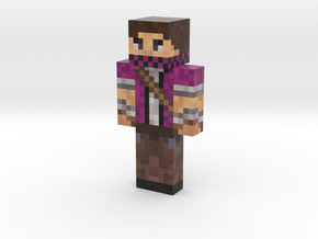 RexySmooth   Minecraft toy in Natural Full Color Sandstone