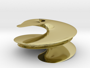 Helix in 18k Gold Plated Brass
