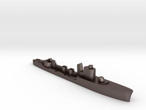 Italian Ariel torpedo boat 1:1800 WW2 in Polished Bronzed-Silver Steel