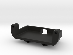Axial SCX24 Metal gear Servo mount​ for Emax ES08M in Black Natural Versatile Plastic