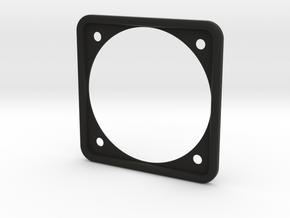Aircraft Instrument panel Round gauge bezel in Black Premium Versatile Plastic