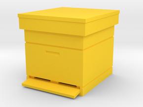 Beehive Dadant 1/22.5 in Yellow Processed Versatile Plastic