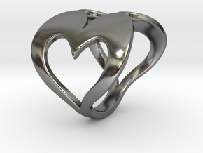 Valentin - Ring in Polished Silver: 6.75 / 53.375