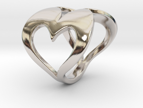 Valentin - Ring in Rhodium Plated Brass: 6 / 51.5