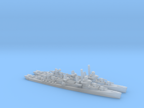 US Fletcher-Class Destroyer (v2) (x2) in Smooth Fine Detail Plastic