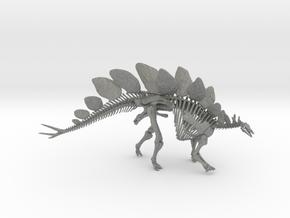 Stegosaurus Skeleton (1:18 / 1:30) in Gray PA12: 1:30
