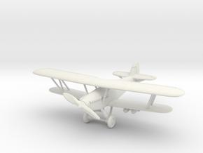 Hawker Hart 1/100 in White Natural Versatile Plastic