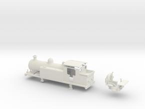 LBSCR Late SR / BR E4-X (Less Rivets) in White Natural Versatile Plastic