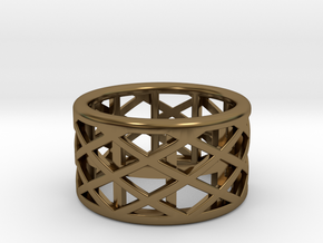 Archi Ring  in Polished Bronze: Medium