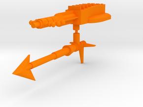 Aquatech Weapons in Orange Processed Versatile Plastic: Large