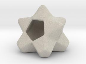 AIRhabitat Star Box in Natural Sandstone